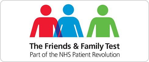 The friends and family test. Part of the NHS Patient Revolution
